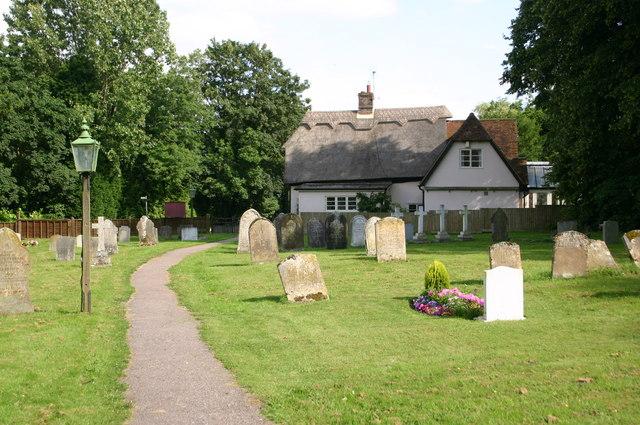 Wilden churchyard