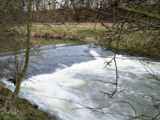 Weir on River Dearne.