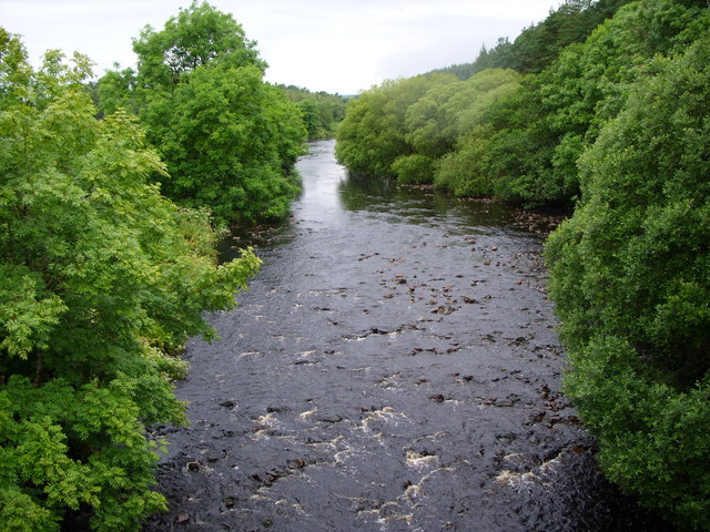 The River Cree above Clachaneasy
