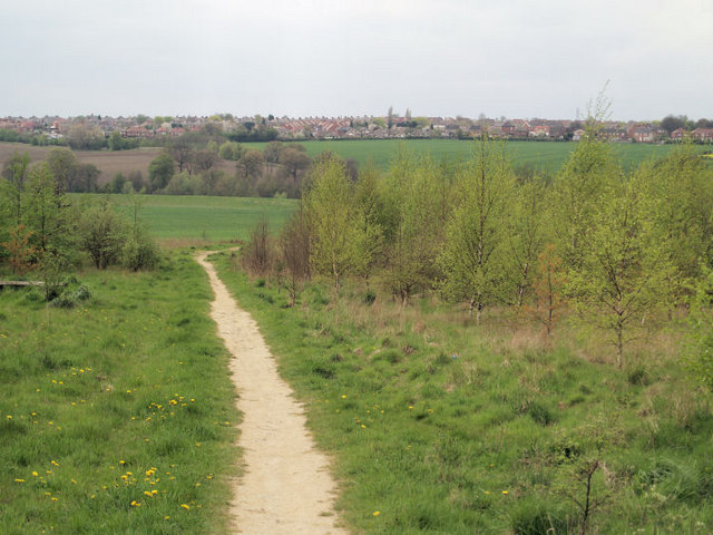Darfield from former site of Dearne Valley Colliery.