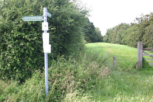 Bridleway off Wentworth drive