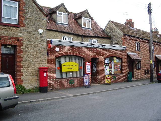 Post Office and Village Stores, Marcham