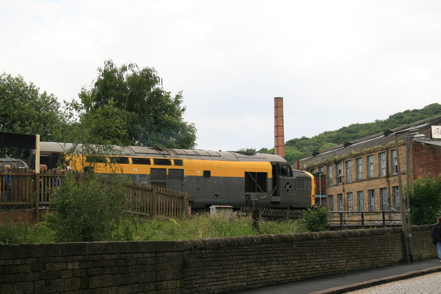 Diesel day on the Worth Valley