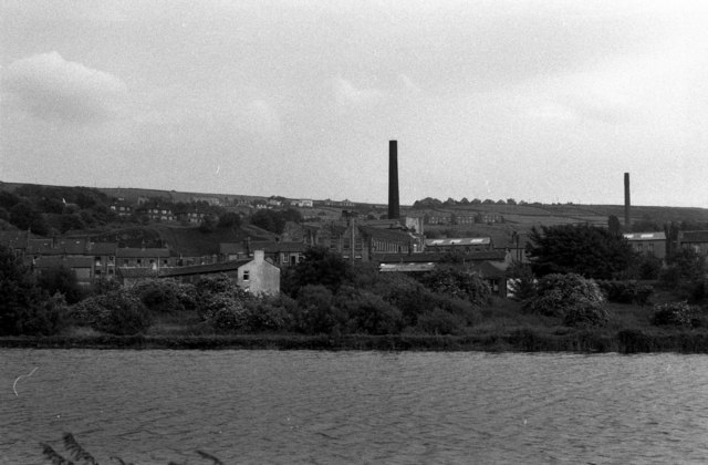 Mill Pond, Low Westwood Mill, Linthwaite