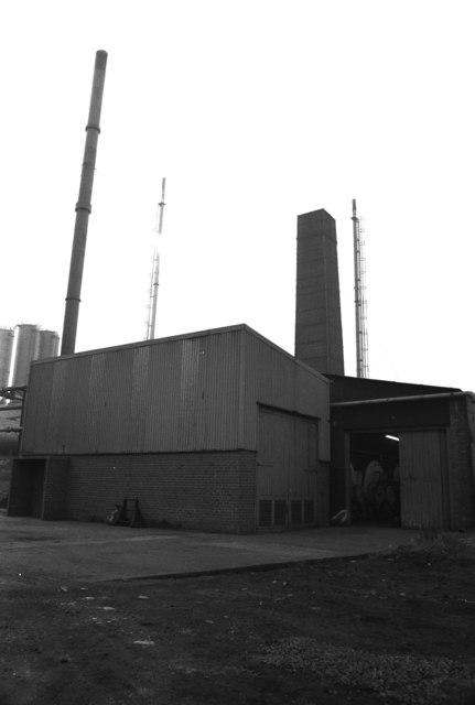Randolph Coke & Chemical Co, Evenwood (boiler house)