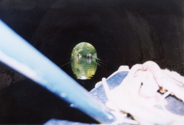 Eastern exit of Braunston Tunnel