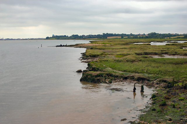 River Orwell foreshore
