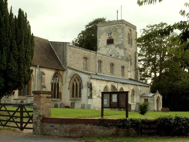 St. Mary's church at Swaffham Bulbeck