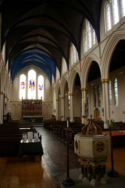 Inside St John the Evangelist's Church