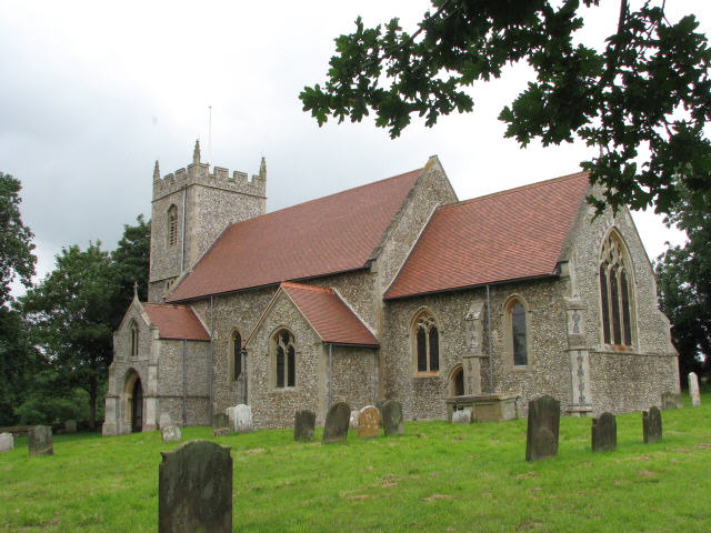 St Mary's church, East Bilney