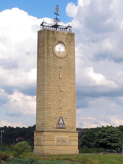 Memorial Tower, Fartown Cricket Ground