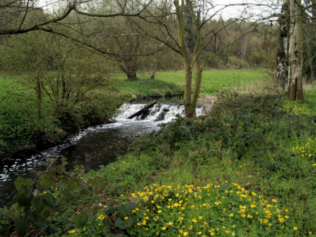 Weir at Roche Abbey.
