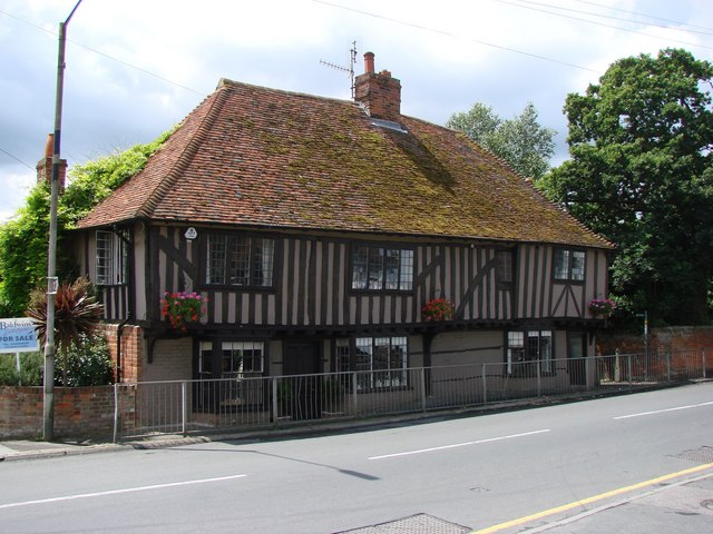 House on The Street, Boughton Street, opposite the White Horse Pub.