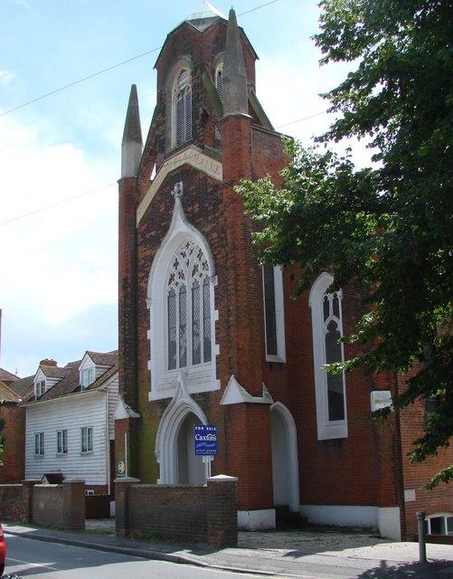 Former Wesleyan Chapel, Boughton Street