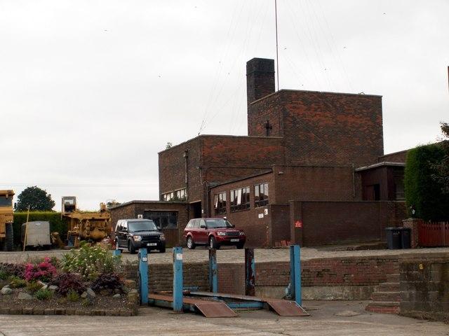 Part of Monckton Colliery pit top.