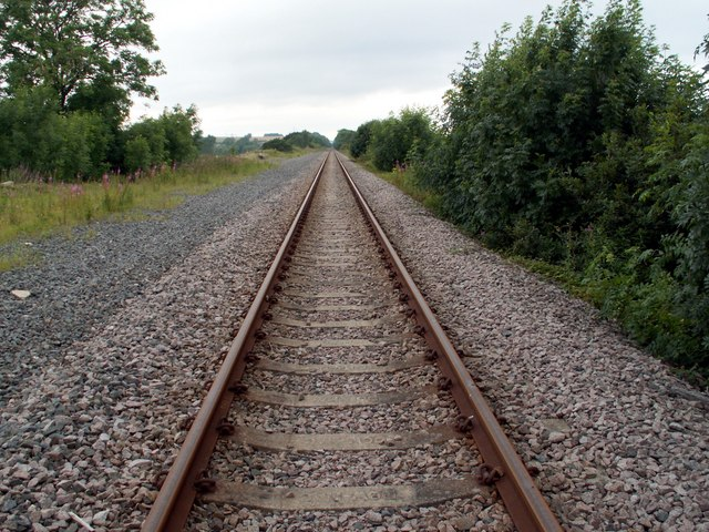 Railway Line to Walton from Royston