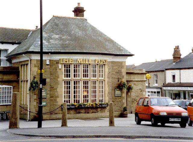 Mile Post public house, 1997