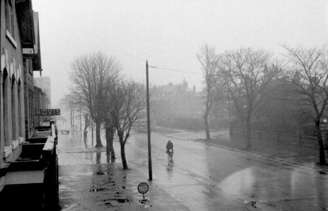 Leeds Road, Oatlands Mount, Harrogate, 1955
