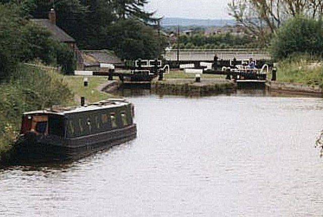 2001 : Wheelock Locks - Trent & Mersey Canal