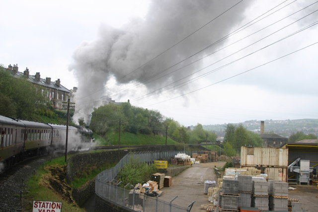 On the Keighley & Worth Valley Railway