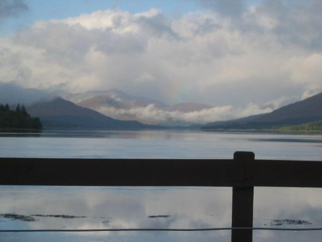 Loch Eil, early morning.
