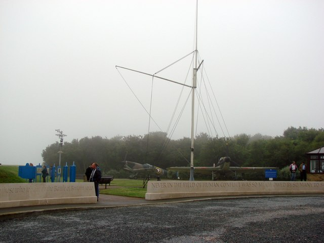 The Battle of Britain Memorial Site.