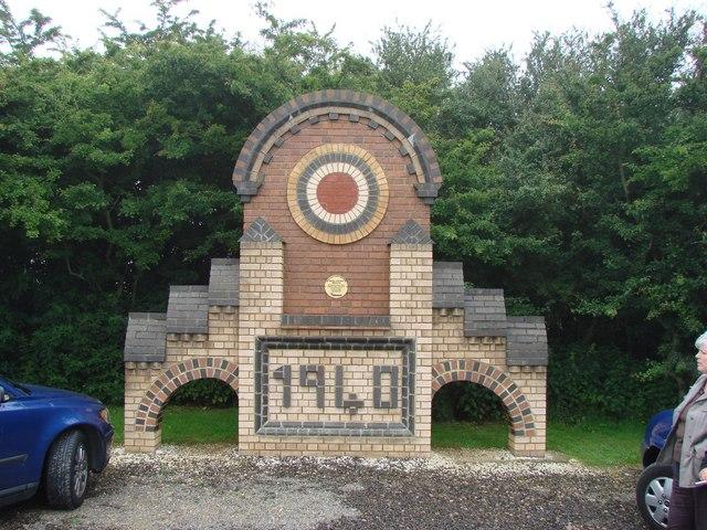 A Memorial on the Battle of Britain Memorial Site, Capel-le-Ferne.