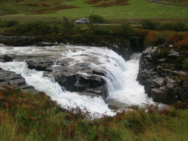 River Coe Waterfall