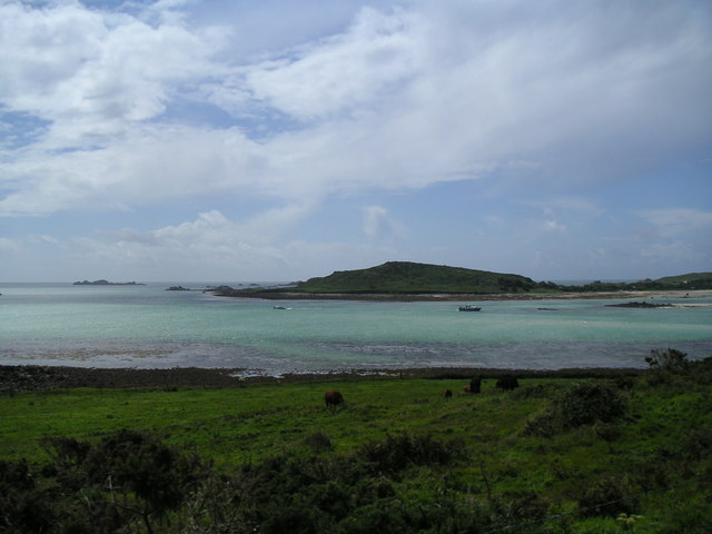 View north west from New  Grimsby, Tresco