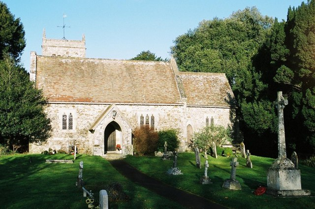 Edmondsham: parish church of St. Nicholas