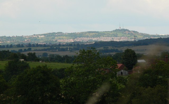 Dudley in the distance