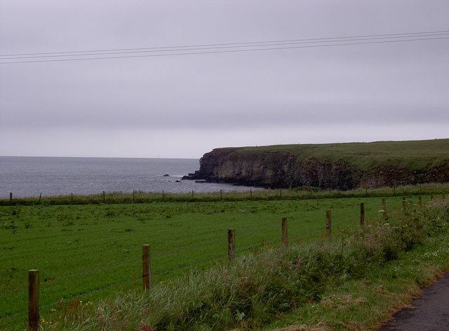 Cliffs, near Castle o Burrian, Rapness, Westray