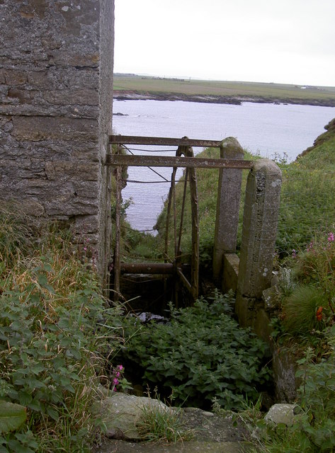Rapness Water mill, near Clifton, Westray