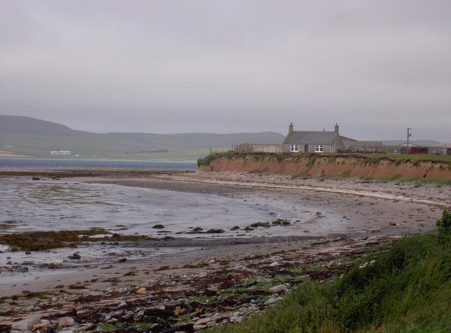Bay of Tuquoy at Branstane, Skelwick, Westray