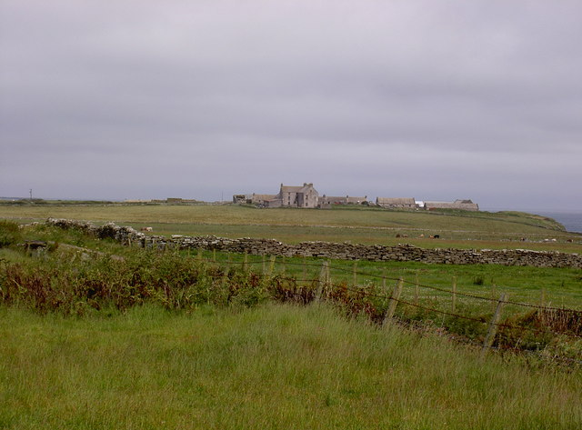 Farm and lands at Cleat, Westray