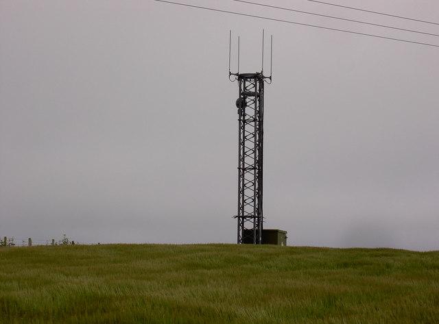Telecommunications mast, Gallowhill, Westray