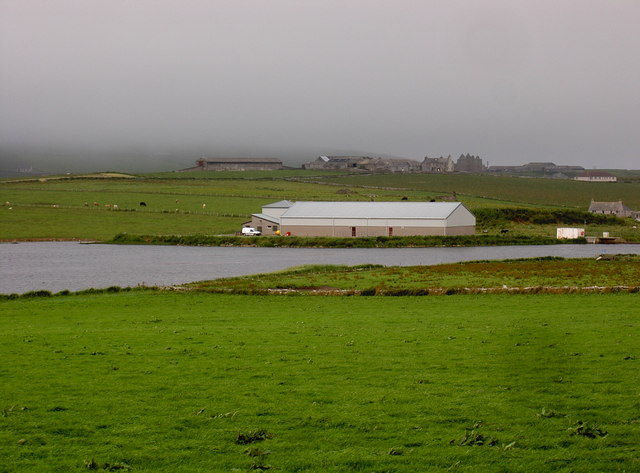 Water Treatment Works, Saintear Loch, Westray