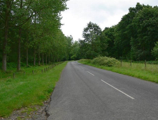 Road to Trimpley Reservoir