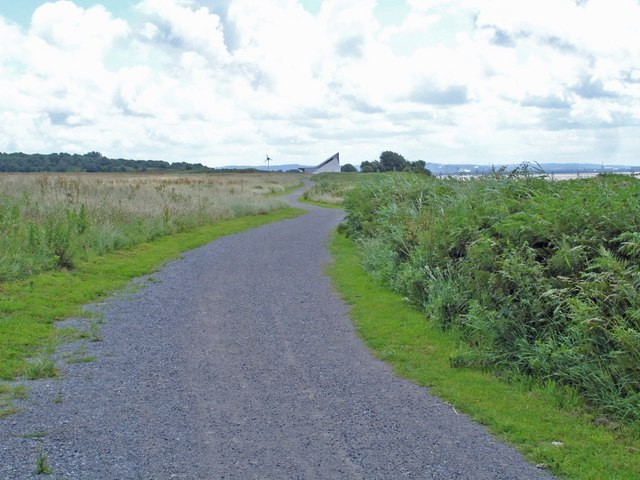 Mersey Way beside old Liverpool Airport