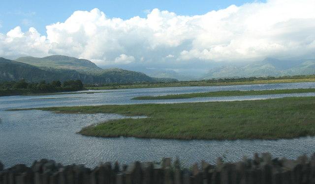 The Glaslyn estuary