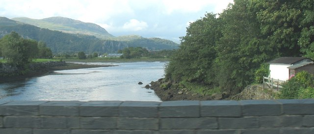 Afon Glaslyn from Pont Glaslyn