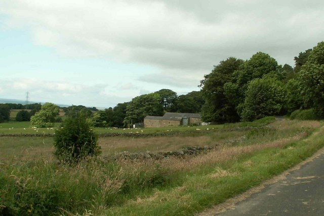 Farm buildings at Low Houses
