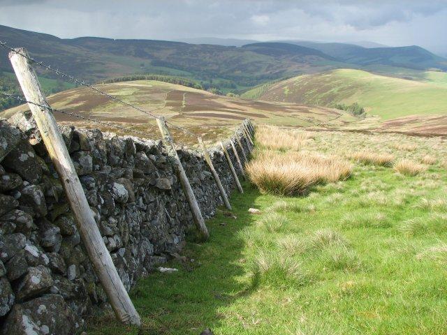 Wall on Blake Muir