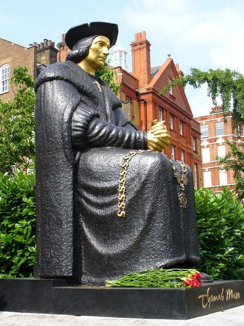 Thomas More's Statue