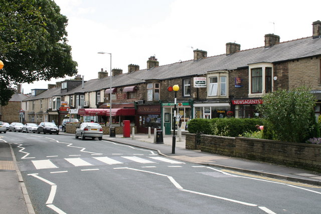 Shops on Gisburn Road, Barnoldswick