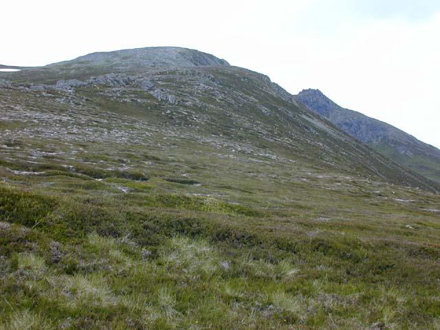 The south east ridge of Beinn a' Bhuird