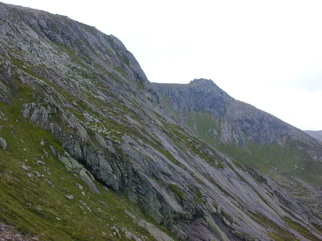 Eastern cliffs of Beinn a' Bhuird