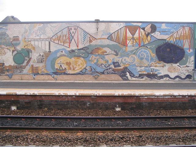 Forth Bridge mosaic