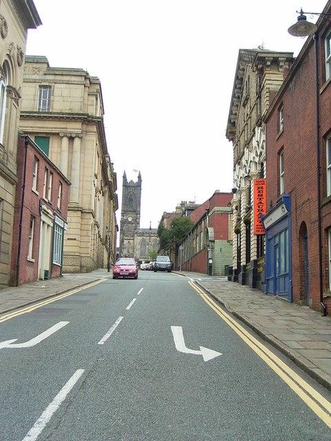 Greaves Street.