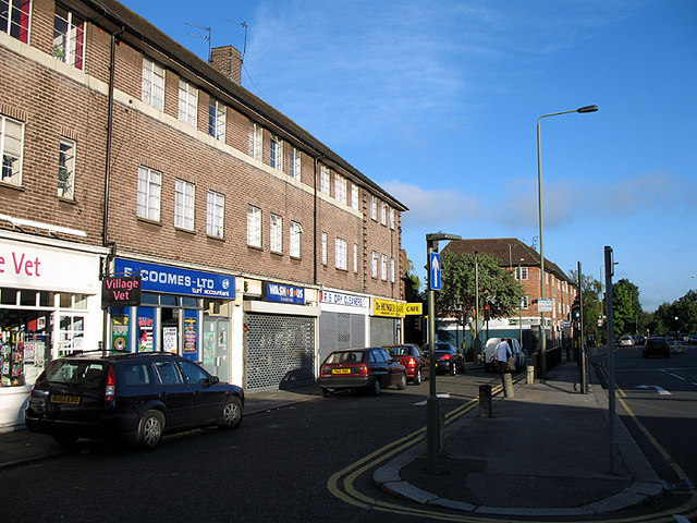 Shops on East End Road